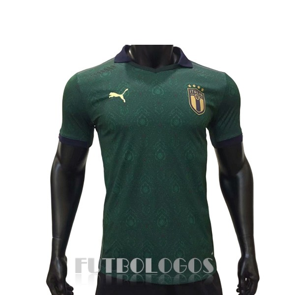 camiseta 2020 italia tercera version player