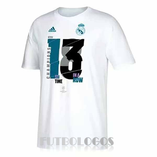 camiseta 13 champions league real madrid blanco