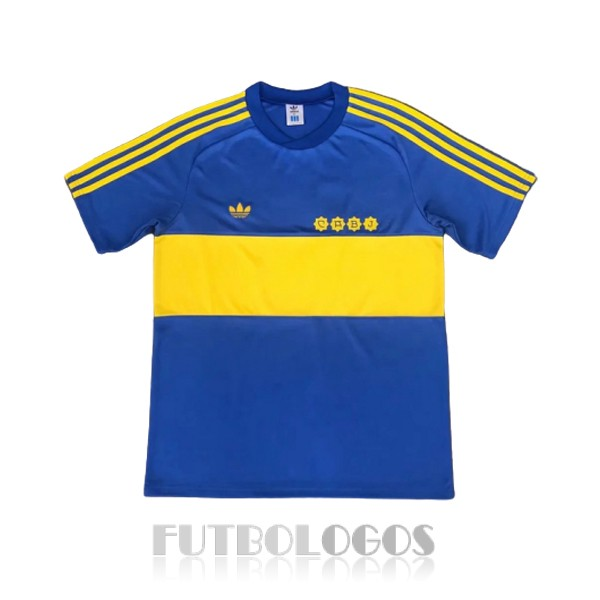 camiseta 1981-1982 boca juniors retro primera