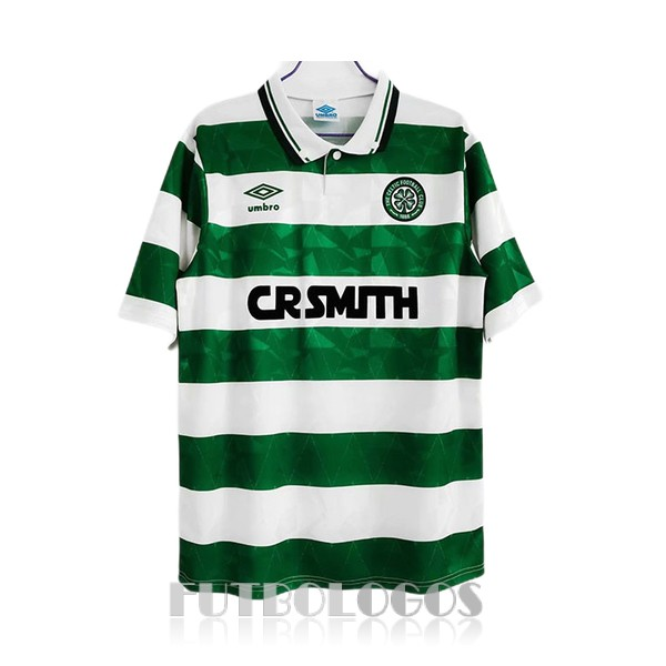 camiseta 1989-1991 celtic retro primera
