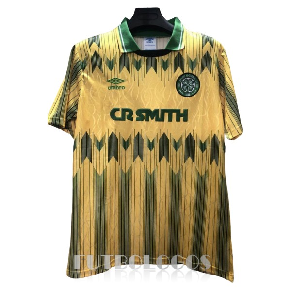 camiseta 1989-1991 celtic retro segunda