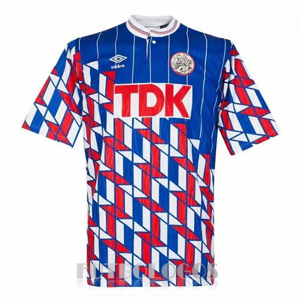 camiseta 1989 ajax retro segunda