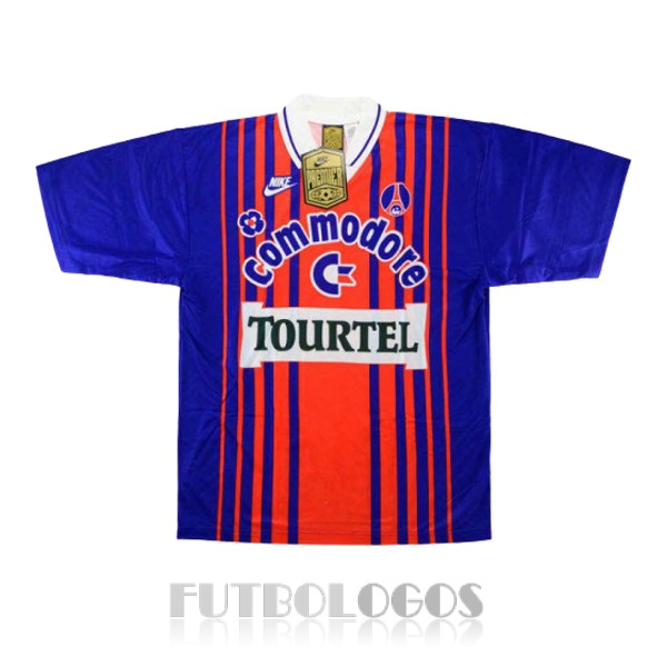 camiseta 1993-1994 paris saint germain retro primera