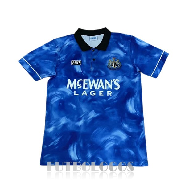 camiseta 1993-1995 newcastle united retro segunda