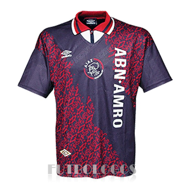 camiseta 1994-1995 ajax retro segunda