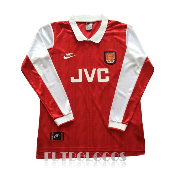 camiseta 1994 arsenal retro manga larga primera