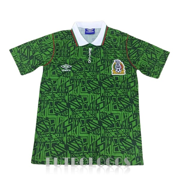 camiseta 1994 mexico retro primera