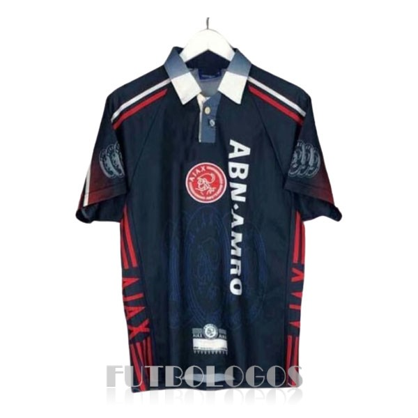 camiseta 1997-1998 ajax retro segunda