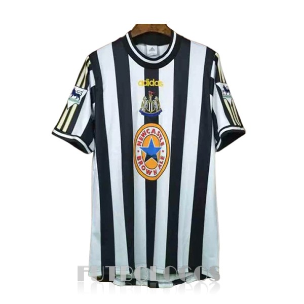 camiseta 1997-1999 newcastle united retro primera