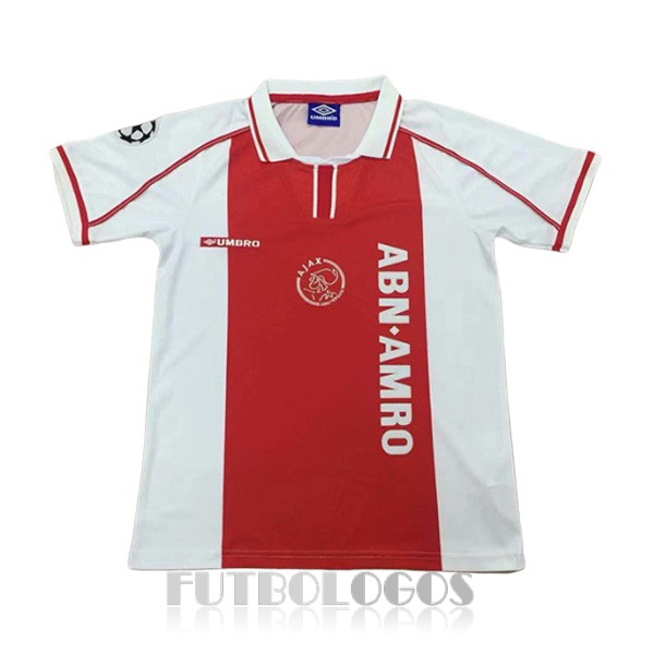 camiseta 1998 ajax retro primera