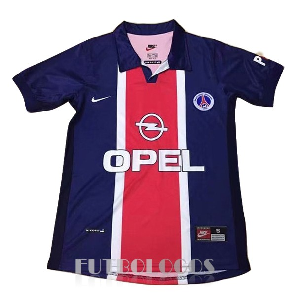 camiseta 1998 paris saint germain retro primera