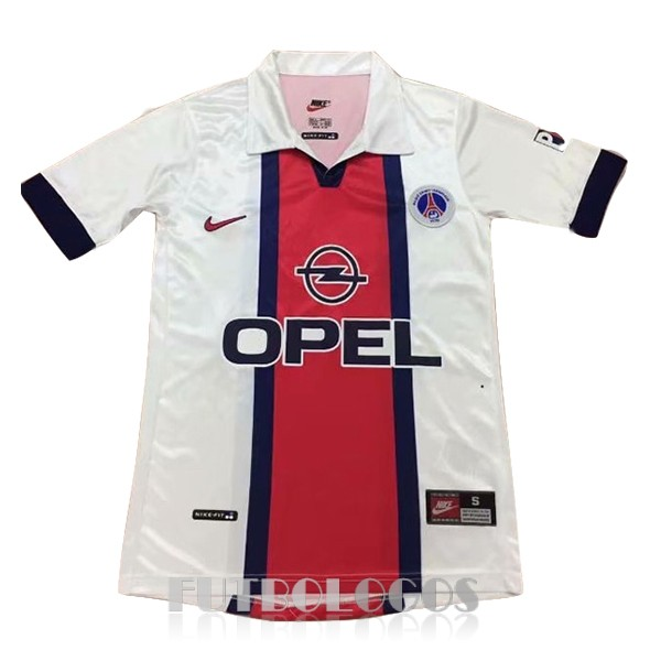 camiseta 1998 paris saint germain retro segunda