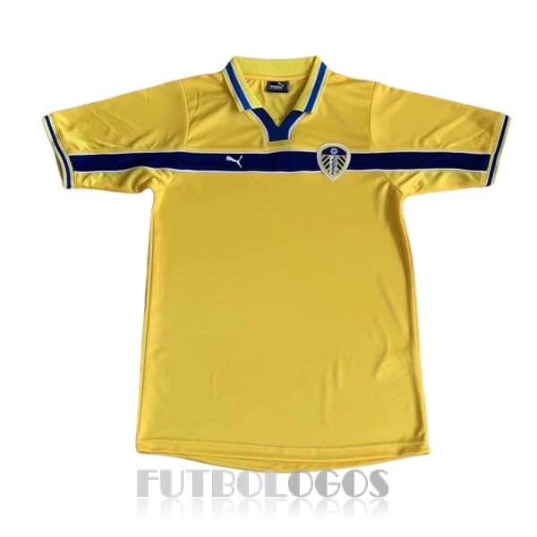 camiseta 1999 leeds united retro tercera
