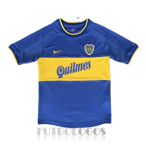 camiseta 2000 boca juniors retro primera