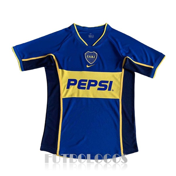 camiseta 2002 boca juniors retro primera