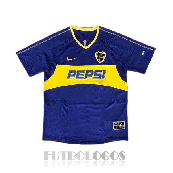 camiseta 2003-2004 boca juniors retro primera