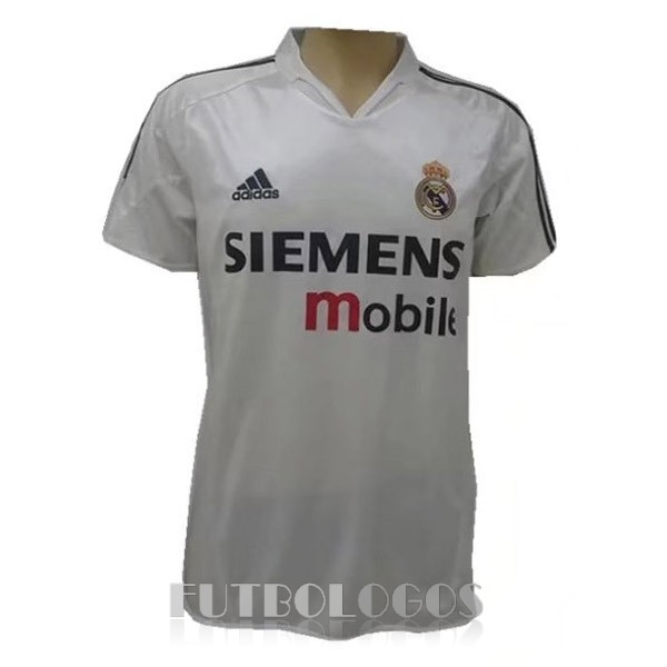 camiseta 2004 real madrid retro primera