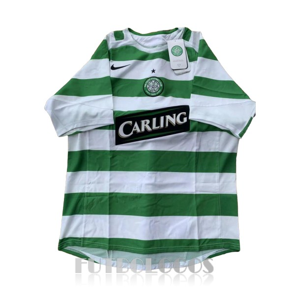 camiseta 2005-2007 celtic retro primera