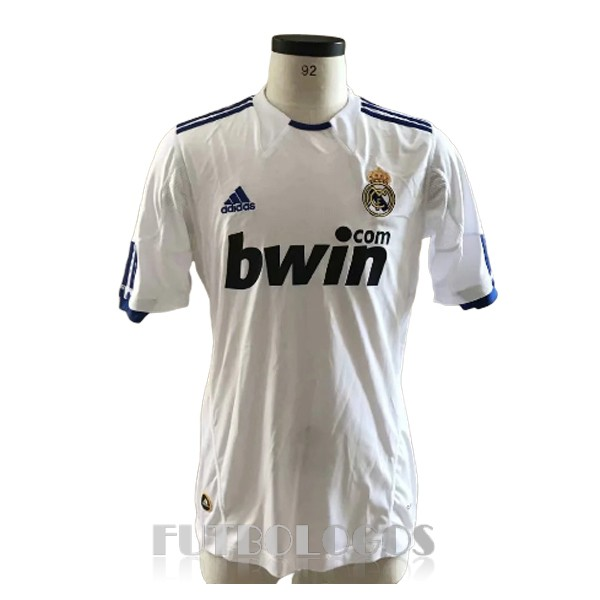 camiseta 2010-2011 real madrid retro primera