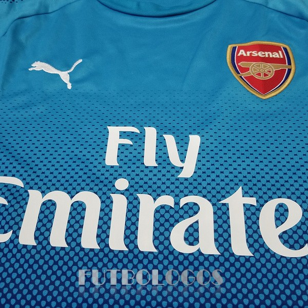 camiseta 2017-2018 arsenal segunda