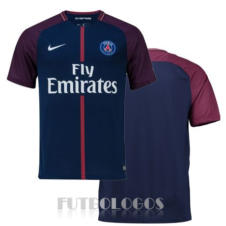 camiseta 2017-2018 paris saint germain primera