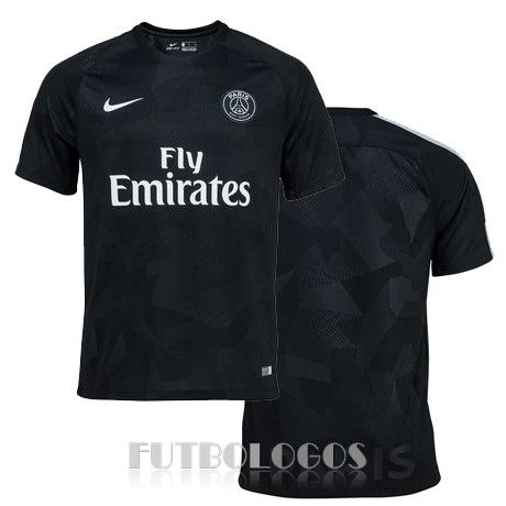 camiseta 2017-2018 paris saint germain tercera