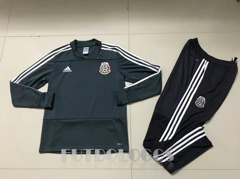 chandal 2018 mexico cuello v verde [mfc1062]