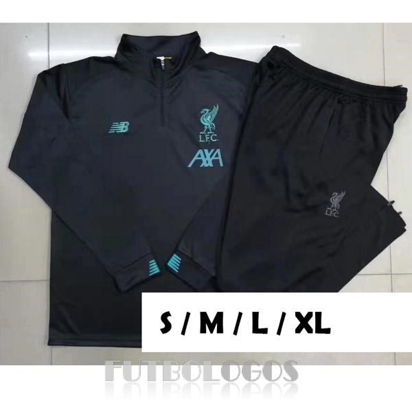 chandal 2019-2020 liverpool cremalleras gris oscuro