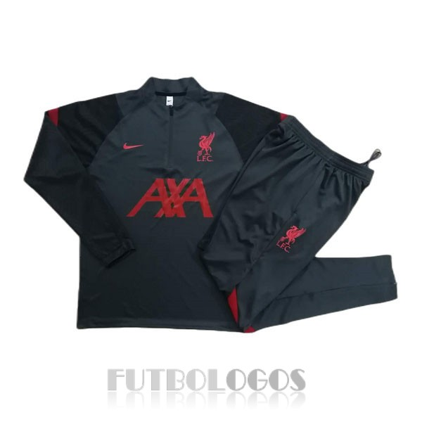 chandal 2020-2021 liverpool cremalleras gris oscuro