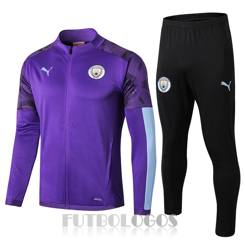 chaqueta 2019-2020 manchester city purpura