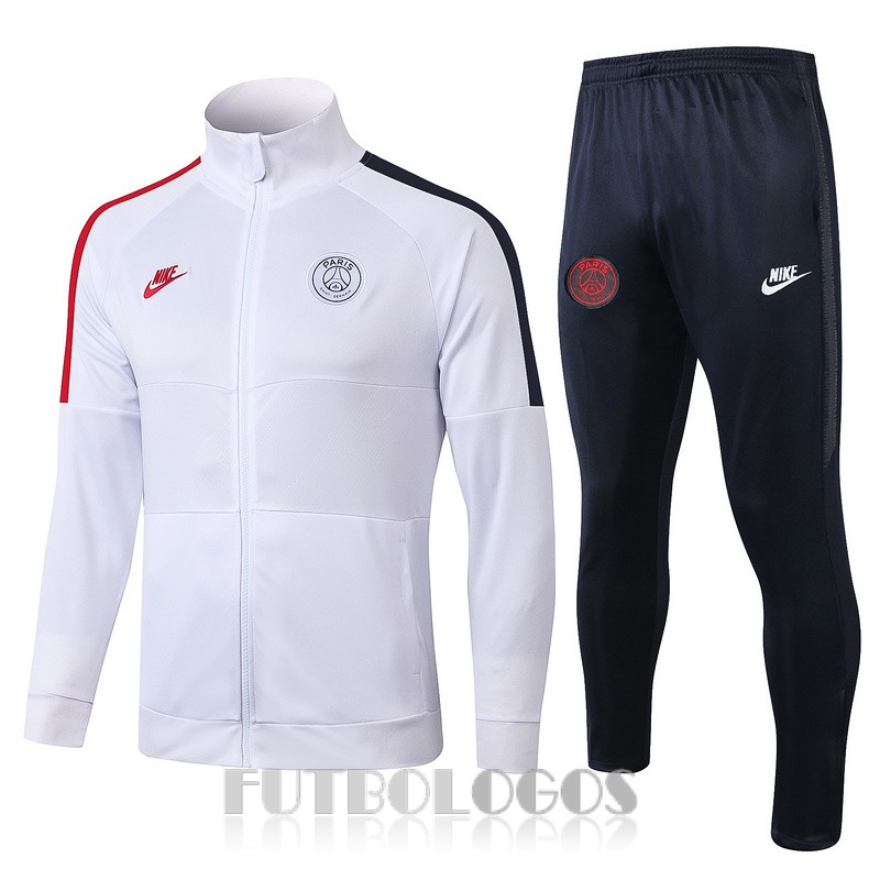 chaqueta 2019-2020 paris saint germain blanco rojo azul