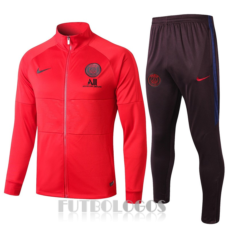 chaqueta 2019-2020 paris saint germain jordan rojo